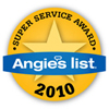 2010 Angie's List Super Service Award Winner