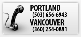For Portland Oregon Garage Door Repair call 503-656-6943. For Vancouver Washington Garage Door Repair call 360-254-0881
